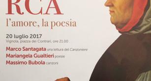 A Vignola (Modena) si ricorda Petrarca