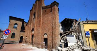 Post-sisma in Emilia-Romagna: dimezzato il cratere