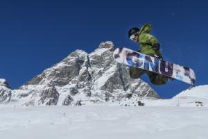 VALLE D'AOSTA-Snowboard Indian Park Breuil-Cervinia (foto Enrico Romanzi)-0669