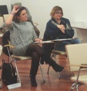 Cristiana Alderighi e Silvia Degl'Innocenti