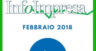 """Rivista """"Infoimpresa"""" di febbraio 2018"""