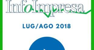 """Rivista """"Infoimpresa"""" di luglio/agosto 2018"""