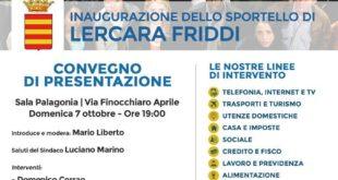 Lercara Friddi (Pa): 7 ottobre inaugurazione sportello Unione Consumatori