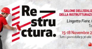 """Torna """"Restructura"""", salone dell'edilizia a Torino"""