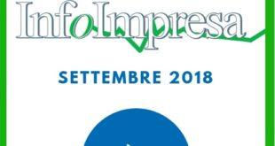 """Rivista """"Infoimpresa"""" di settembre 2018"""